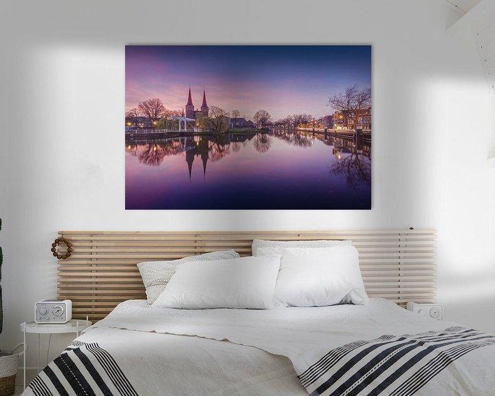 Sfeerimpressie: Delft - Oostpoort van Tom Roeleveld