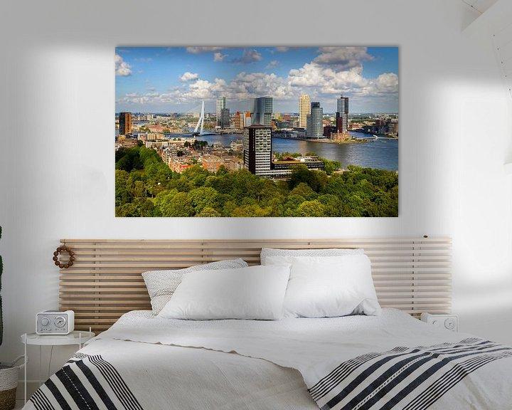 Sfeerimpressie: De skyline van Rotterdam van MS Fotografie | Marc van der Stelt