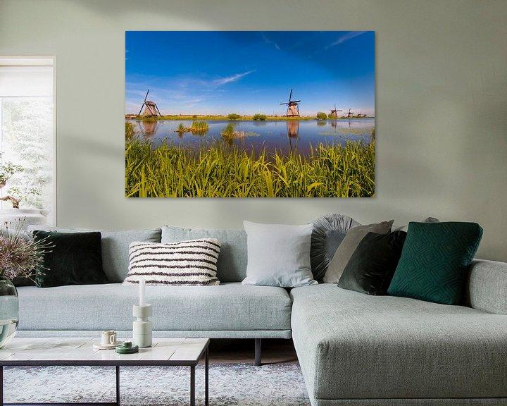 Sfeerimpressie: Windmills in the Sun van Brian Morgan