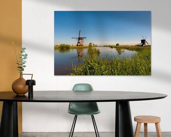 Beispiel: Windmolens op de Kinderdijk von Brian Morgan