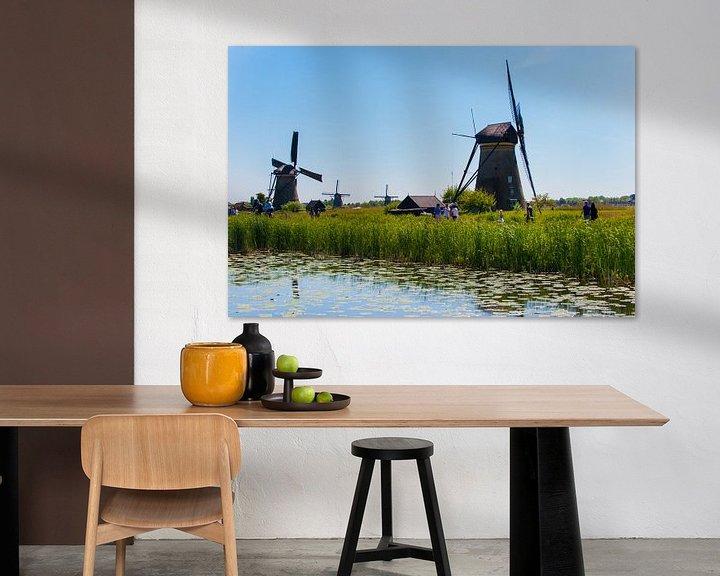 Sfeerimpressie: Windmills as far as the eye van Brian Morgan