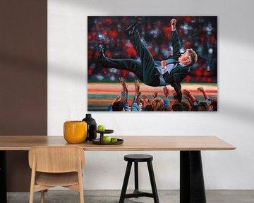 Guus Hiddink schilderij von Paul Meijering