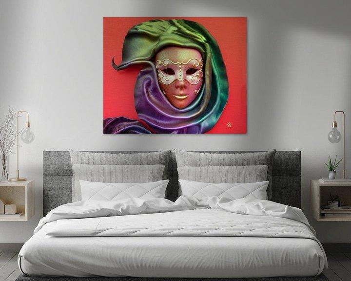 Sfeerimpressie: Mask van Thea Ulrich / UtheasArt