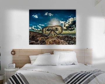Duikbril sur Harrie Muis
