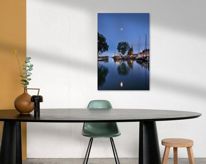 Sfeerimpressie: Haven Hoorn met hoofdtoren van John Leeninga