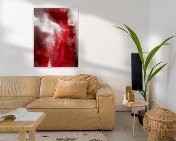 The white and the red woman van Gabi Hampe