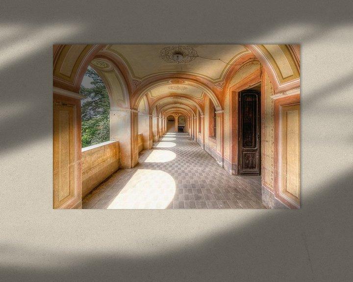 Impression: Salle de couleur douce. sur Roman Robroek