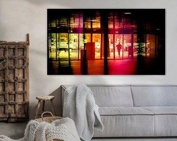 Colorful reflection (1) van Rob van der Pijll