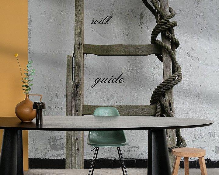 Sfeerimpressie behang: Liefde brengt je thuis van Marit Visser