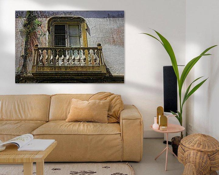 Beispiel: Alten baufälligen Balkon von Yvonne Smits