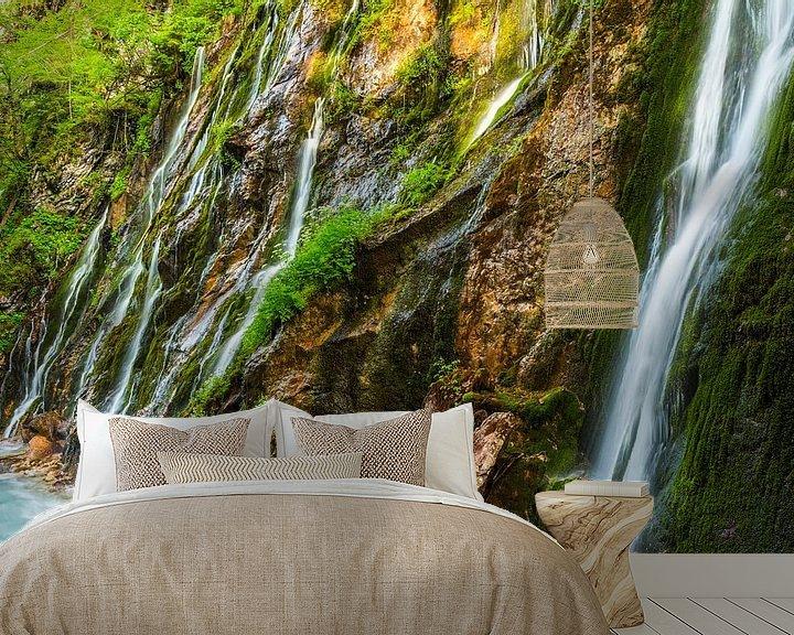 Sfeerimpressie behang: vallend water van Daniela Beyer