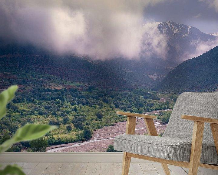 Sfeerimpressie behang: De groene vallei van Sander van Leeuwen