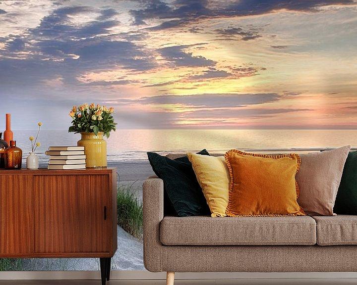 Sfeerimpressie behang: Naar het strand van Fotografie Egmond