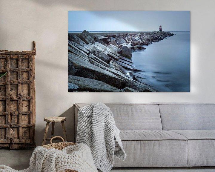 Sfeerimpressie: De Noordpier bij Wijk aan Zee van Fotografie Egmond