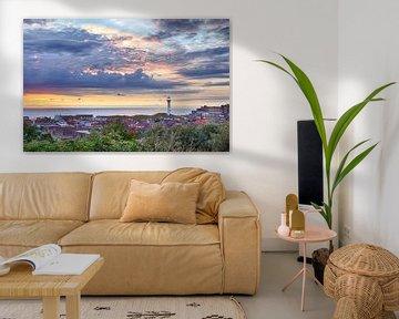 Egmond skyline sur Fotografie Egmond