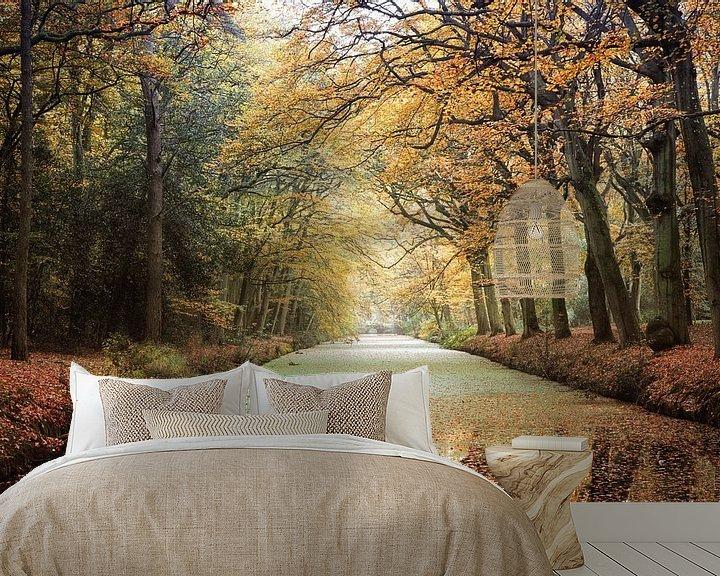 Sfeerimpressie behang: Herfstkleuren van Fotografie Egmond