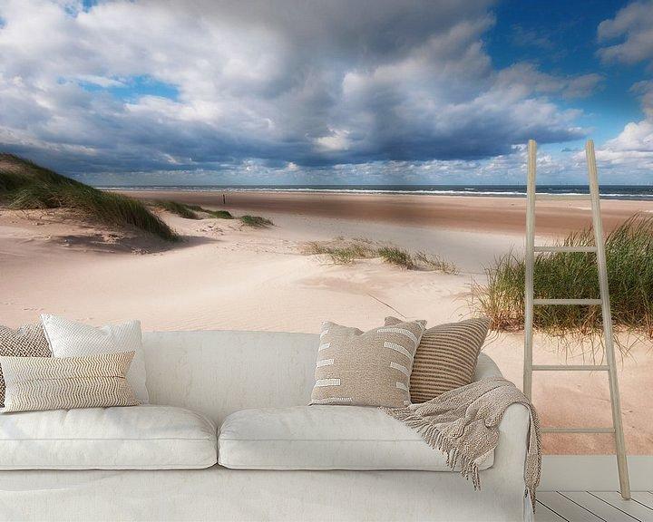 Beispiel fototapete: Ruimtelijk beeld op strand von Fotografie Egmond