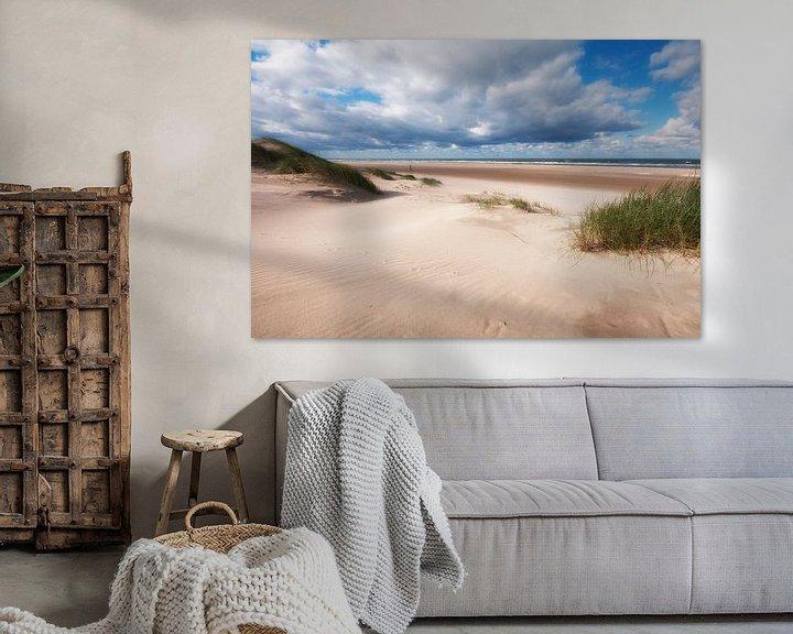 Beispiel: Ruimtelijk beeld op strand von Fotografie Egmond