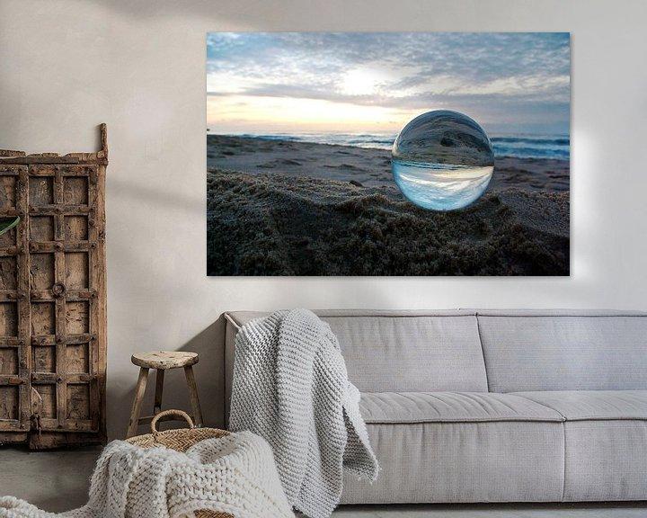 Sfeerimpressie: Sylt: de avond op het strand van Norbert Sülzner
