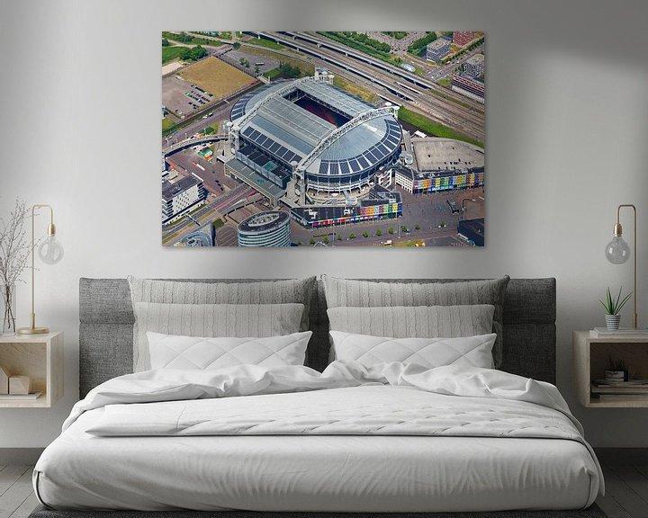 Sfeerimpressie: Luchtfoto Amsterdam Arena / Johan Cruijff Arena van Anton de Zeeuw