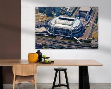 Zon reflectie op dak Amsterdam Arena / Johan Cruijff Arena