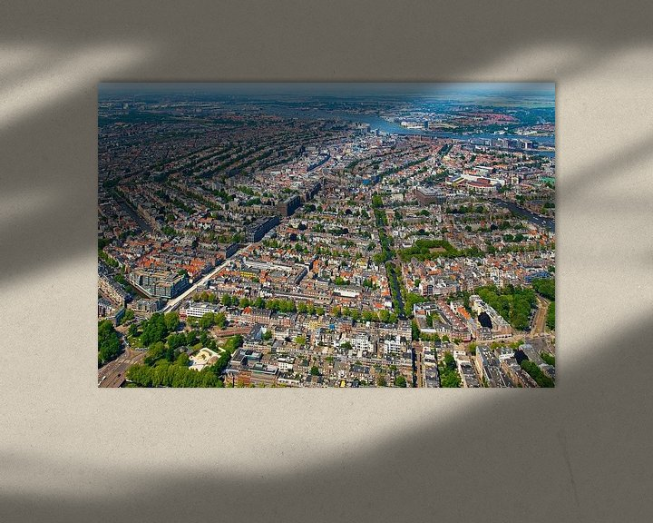 Sfeerimpressie: Luchtfoto Amsterdam van Anton de Zeeuw