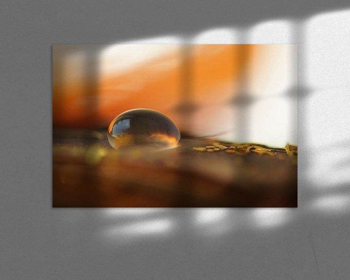 Sfeerimpressie: Fire and water van Carla Mesken-Dijkhoff