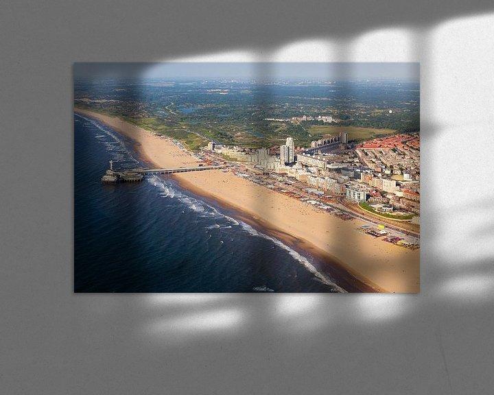 Sfeerimpressie: Luchtfoto Scheveningen van Anton de Zeeuw