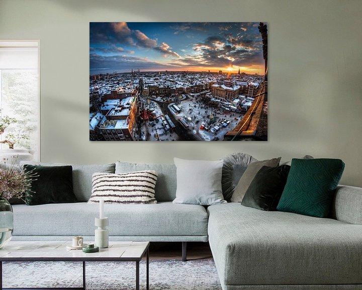 Sfeerimpressie: Groningen Winter City van Frenk Volt