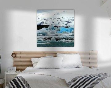 Jökulsárlón gletsjermeer van simone opdam