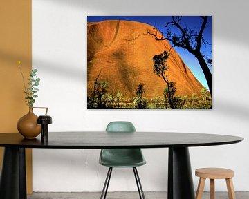 Uluru oder Ayers Rock, Australien von Rietje Bulthuis
