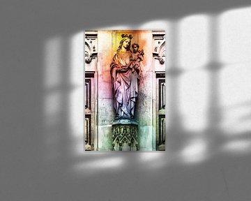 De heilige maagd Maria von 2BHAPPY4EVER.com photography & digital art