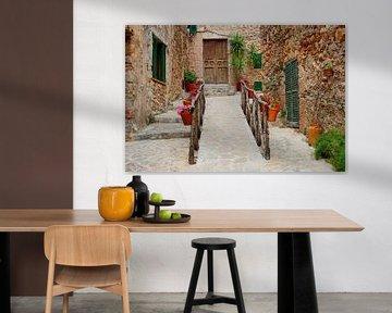 Dorpje Mallorca van Inge Hogenbijl