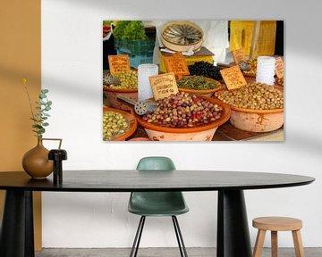 Oliven und spanische Tapas von Inge Hogenbijl