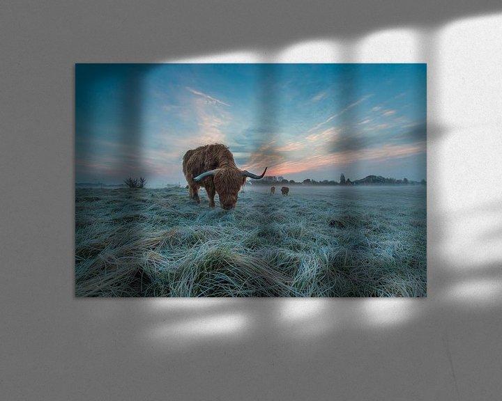 Sfeerimpressie: Morning blues van Ferdinand Mul