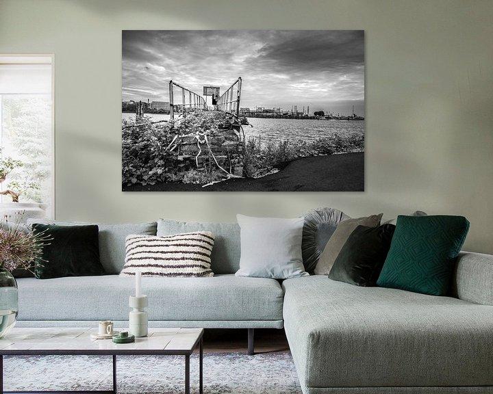 Impression: Urbex dans le port de Rotterdam sur Ton de Koning