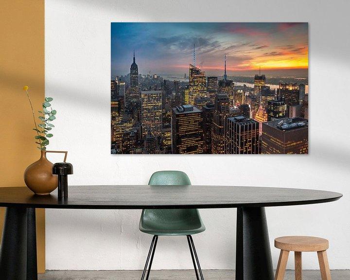 Sfeerimpressie: New York Panorama III van Jesse Kraal