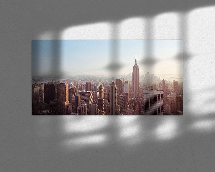 Sfeerimpressie: New York Panorama VI van Jesse Kraal