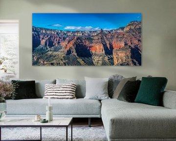 Luftaufnahme von der spektakulären Grand Canyon, USA von Rietje Bulthuis