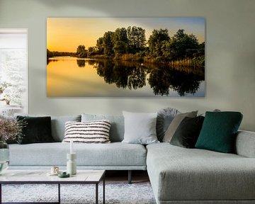 Zonsopkomst over het kanaal - II van Richard Guijt Photography