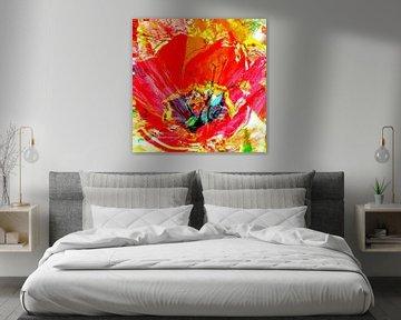 Vierkante tulp van Matthias Rehme