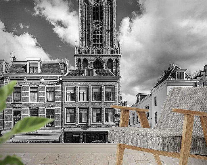 Beispiel fototapete: Dom-Turm und Maartensbrug, Utrecht von John Verbruggen