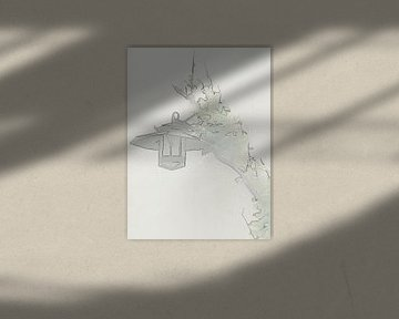 alte Laterne van Thea Ulrich / UtheasArt