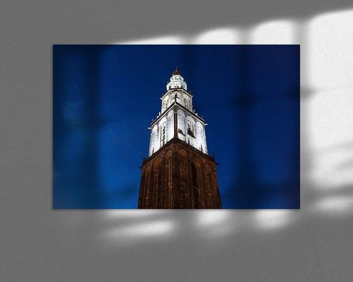 Sfeerimpressie: Martinitoren bij Avond van Frenk Volt