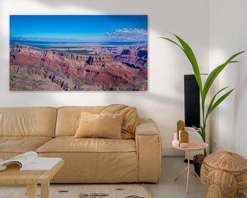 Die große Lücke, Grand Canyon, Nordamerika von Rietje Bulthuis