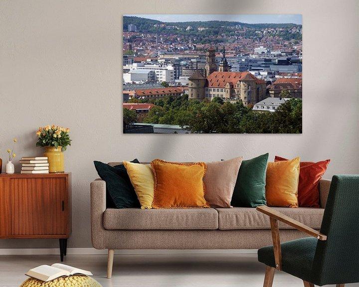 Sfeerimpressie: Altes Schloss - Stuttgart Panorama van Yven Dienst