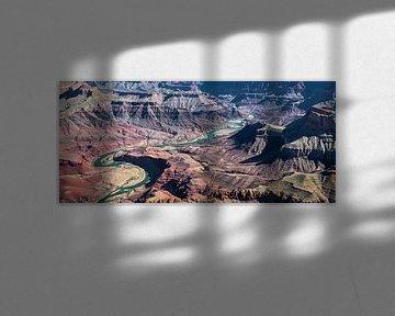 Mäandern des Colorado River durch den Grand Canyon von Rietje Bulthuis
