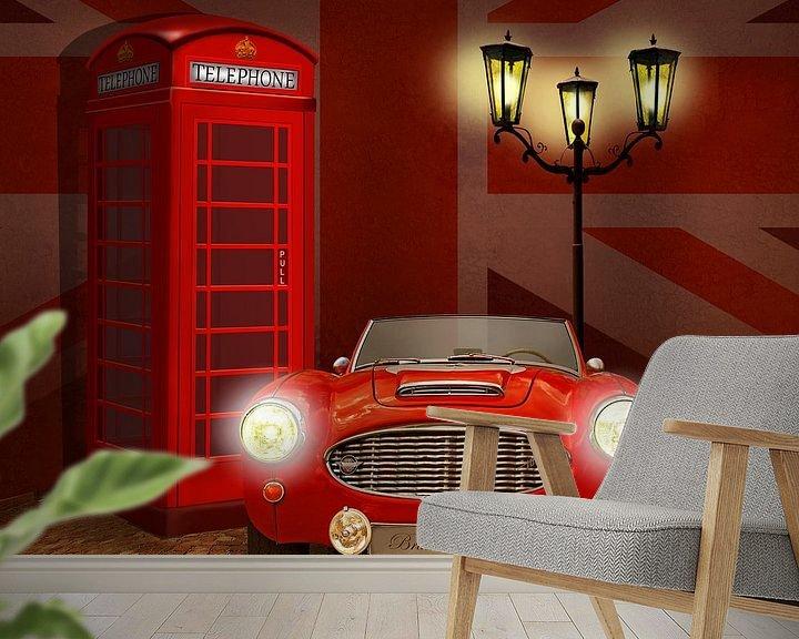 Beispiel fototapete: British RED von Monika Jüngling
