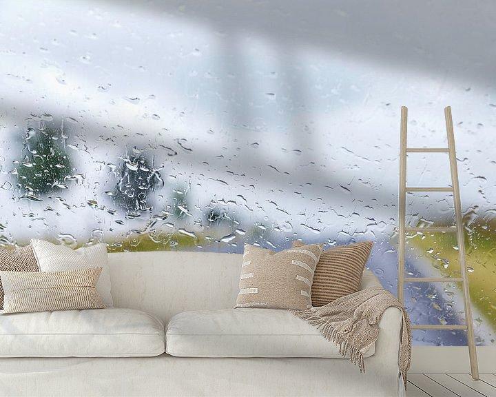 Sfeerimpressie behang: Dromend over een mooie zomerdag.. van Miranda van Hulst