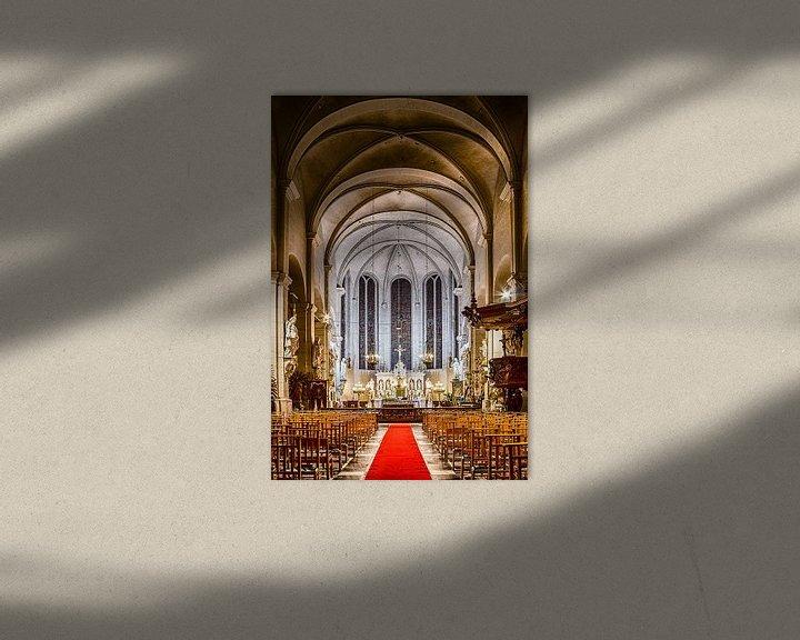 Beispiel: Begijnhofkerk Turnhout, interieur. von Photo Dante